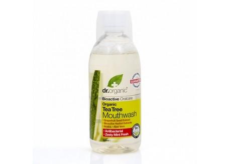 dr.organic Mouthwash με Τεϊόδεντρο 500 ml