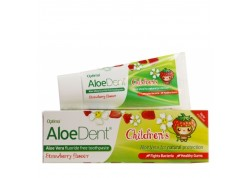 OPTIMA Aloe Dent Strawberry Children's Toothpaste 50 ml