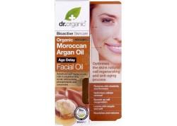 dr.organic Facial Oil με βιολογικό έλαιο αργκάν 30 ml