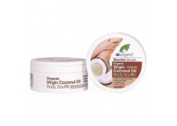 dr.organic Body Souffle με βιολογικό έλαιο καρύδας 200 ml