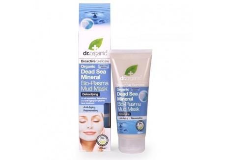 dr.organic Bio-Plasma Mud Mask με στοιχεία από τη νεκρά θάλασσα