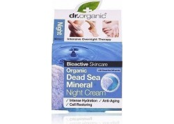 dr.organic Night Cream με στοιχεία από τη νεκρά θάλασσα 50 ml