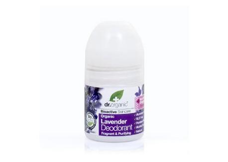 dr.organic Deodorant με βιολογική λεβάντα 50 ml