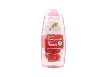 dr.organic Body Wash με βιολογικό ρόδι 250 ml