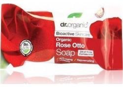 dr.organic Soap με βιολογικό έλαιο τριαντάφυλλου 100 gr