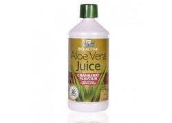 Optima Aloe Vera Juice cranberry 1 Lt