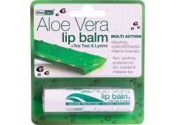 Optima Aloe Vera Lip Balm 4 gr