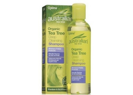 Optima Tea Tree Deep Cleansing Shampoo 250 ml
