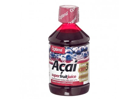Optima Acai Juice with Oxy3 500 ml