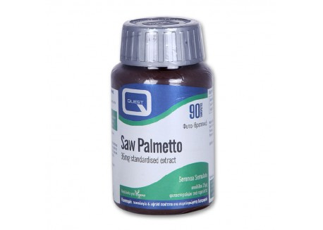 Quest Saw Palmetto 36 mg Extract 90 tabs