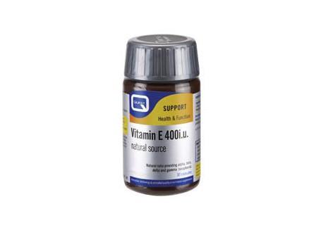 Quest Vitamin E 400 iu 30caps