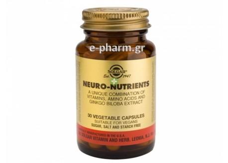 Solgar Neuro Nutrients veg.caps 30s