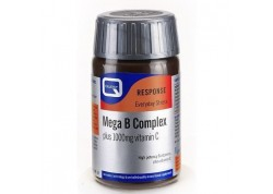 Quest MEGA B Complex plus 1000mg vitamin C (60 caps)