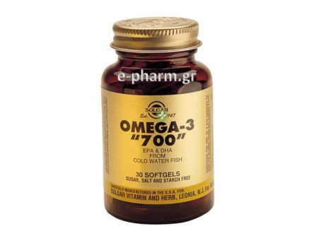 Solgar OMEGA-3 Double Strenght 30 softgels