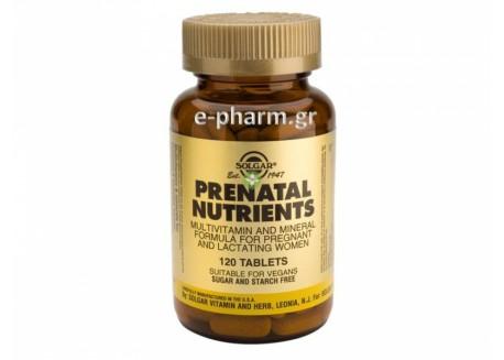 Solgar Prenatal Nutrients tabs 120s