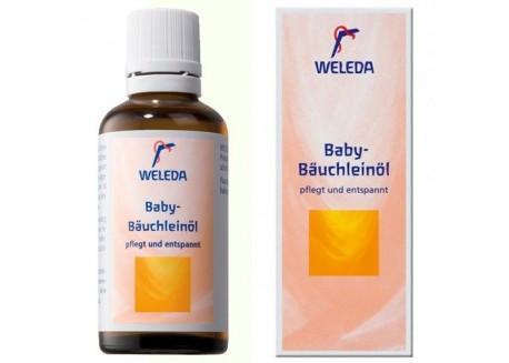 WELEDA Λάδι μασάζ για την κοιλιά του μωρού 50ml
