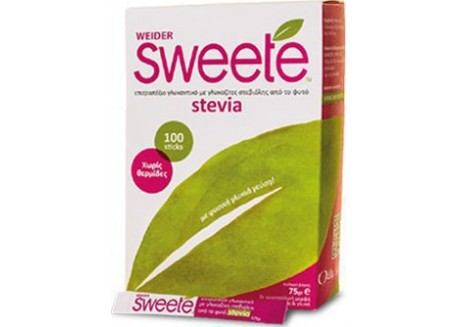 Sweete Stevia 100 sticks