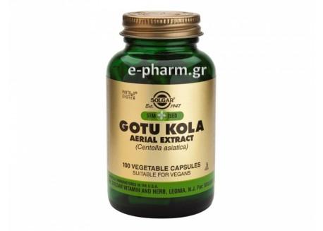 Solgar STD Gotu Kola Aerial Extract veg.caps 100s
