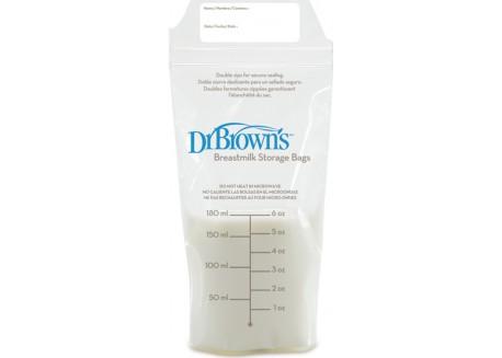 Dr Brown's Σακουλάκια φύλαξης μητρικού γάλακτος (25 τεμ.)