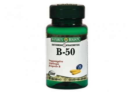 NATURE'S BOUNTY B-50 Complex 60 tabs