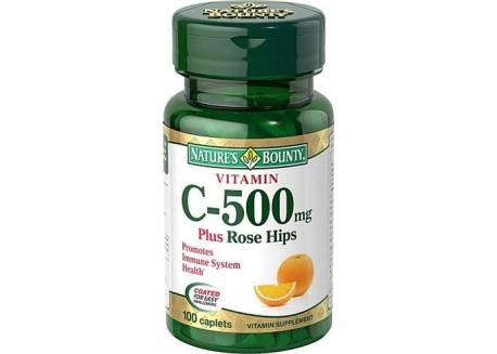 NATURE'S BOUNTY Βιταμίνη C  500 mg 100 tabs