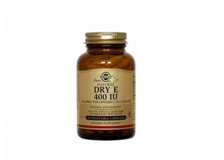 Solgar Vitamin E 400 IU dry veg.caps 50s