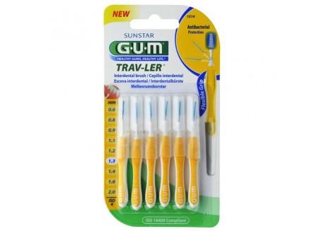 Gum 1512 Trav-ler Tapered 1,3 mm x 6τμχ