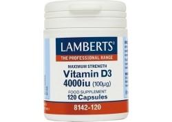 Lamberts Vitamin D 4000 IU 120 caps