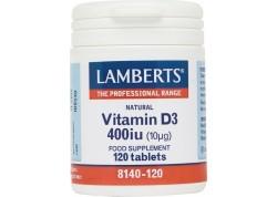 Lamberts Vitamin D 400 IU 120 tabs