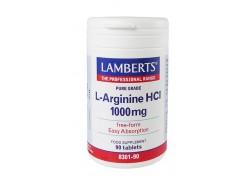 Lamberts L-Arginine 1000 mg 90 tabs
