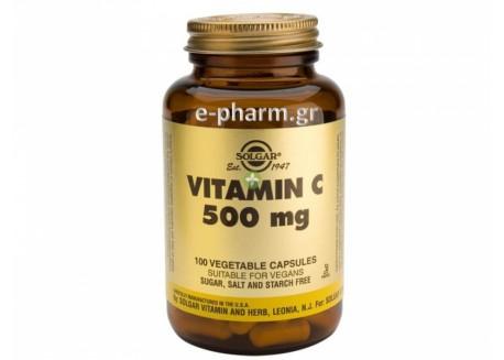 Solgar Vitamin C  500mg veg.caps 100s