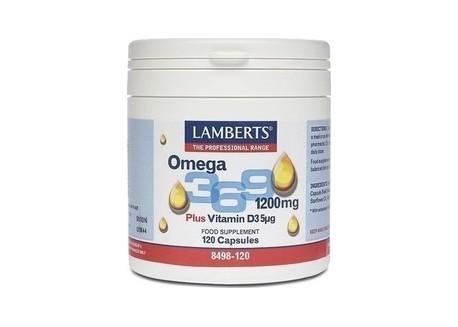 Lamberts Omega 3,6,9 120 caps