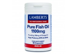 Lamberts Pure Fish Oil 1100 mg (epa) 60 caps