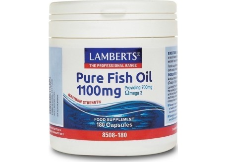 Lamberts Pure Fish Oil 1100 mg (epa) 180 caps