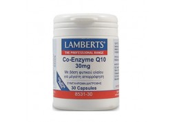 Lamberts Co-Enzyme Q10 30 mg 30 caps