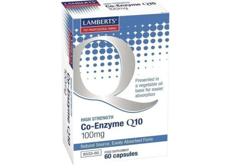 Lamberts Co-Enzyme Q10 100 mg 60 caps