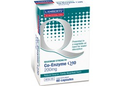 Lamberts Co-Enzyme Q10 200 mg 60 caps