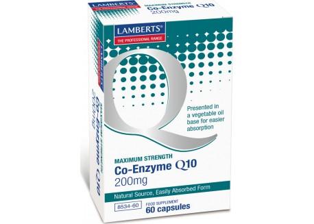 Lamberts Co-Enzyme Q10 200 mg 60 caps