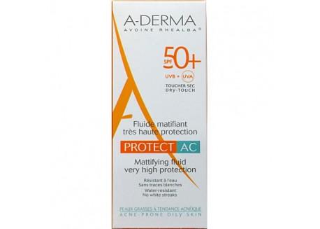 A-DERMA Mattifying Fluid Protect AC SPF50+ 40ml