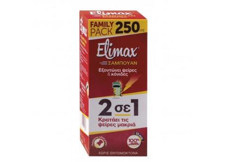 Elimax Shampoo Family Pack 250 ml