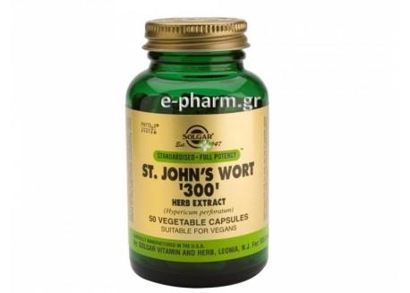 Solgar SFP St.John's Wort Herb Extract 300 mg veg.caps 50s