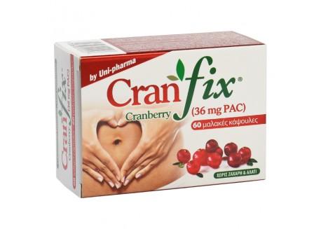 Uni-Pharma Cran Fix 60 μαλακές κάψουλες