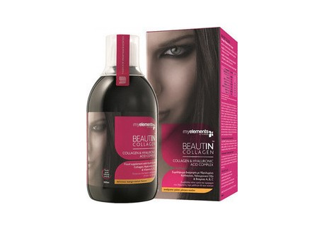 Myelements BeautIn Collagen μάνγκο-πεπόνι 500ml
