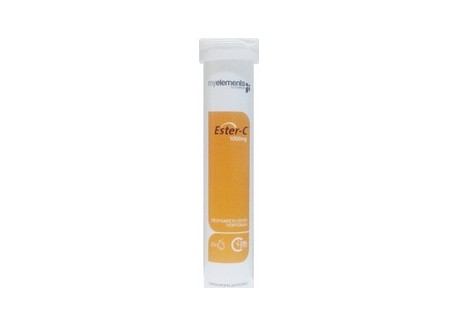 Myelements Ester C 1000 mg αναβράζουσα πορτοκάλι 20's