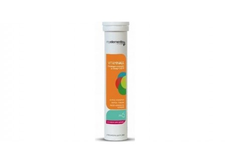 Myelements Vitaminall 20 αναβραζ.δισκία