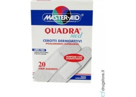 MASTER AID Quadra Med 20 strip Στενά-Φαρδιά