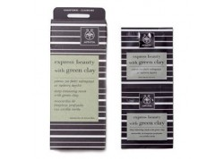 APIVITA express beauty με πράσινη άργιλο 2x8 ml