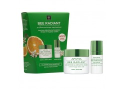 APIVITA Bee Radiant κρέμα ελαφριάς υφής με Δώρο την κρέμα ματιών 50 & 30 ml