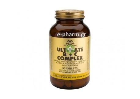 Solgar Ultimate B+C Complex tabs 90s
