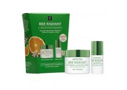 APIVITA Bee Radiant κρέμα πλούσιας υφής με Δώρο την κρέμα ματιών 50 & 30 ml